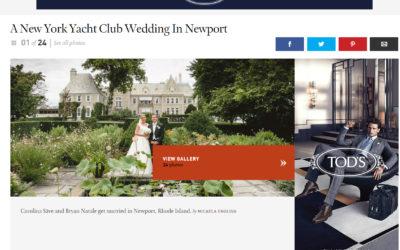 Town & Country . New York Yacht Club . Newport, RI