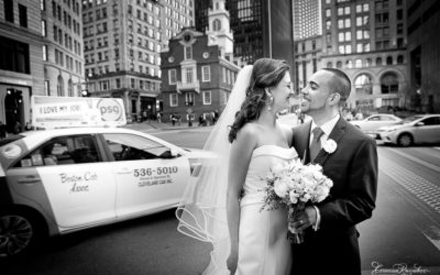 State Room Wedding . Boston, MA . Alexandra & Dan