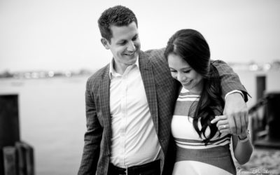Kristine & Jonathan . Boston Esession. Yawkey Stadium . Boston Waterfront . the Commonwealth . Tiffany